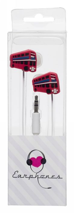 WHSmith London Bus Earphones £2.49 + Free Store Delivery