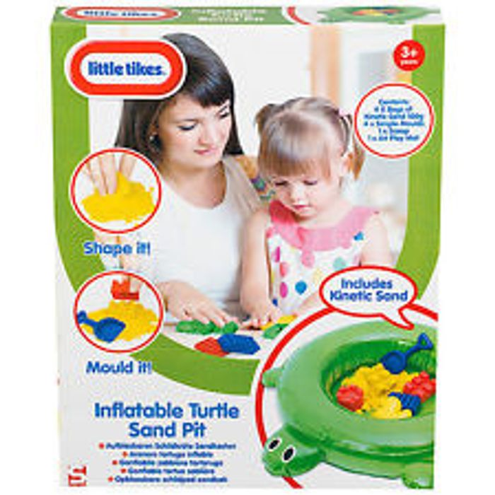 Little Tikes Inflatable Turtle Sand Pit Less than Half Price