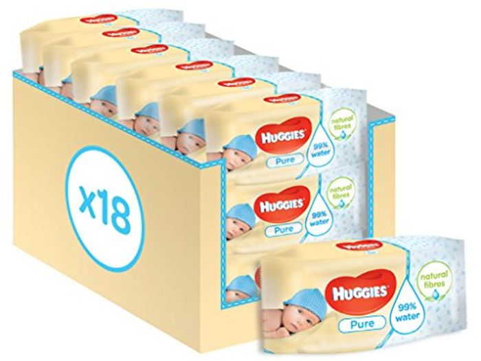18 Packs of Baby Wipes