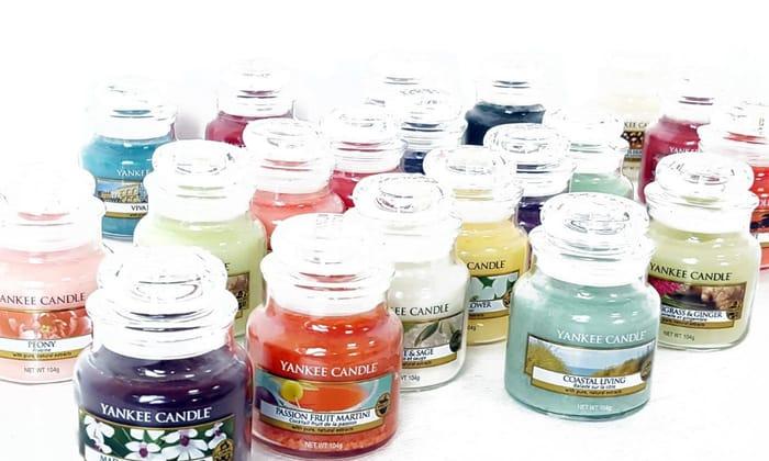 Yankee Candle Three-Piece Small Jar Lucky Dip Set - save 63%