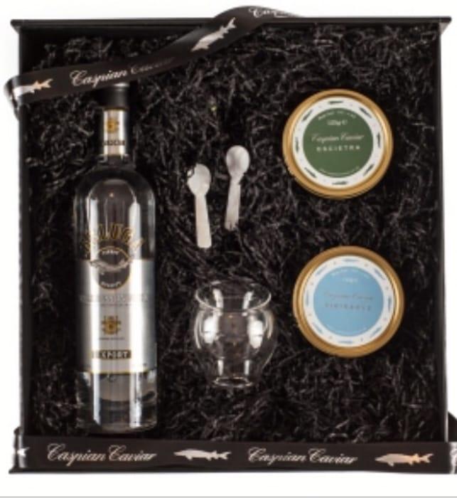Win a Caspian Caviar Duo Gift Set