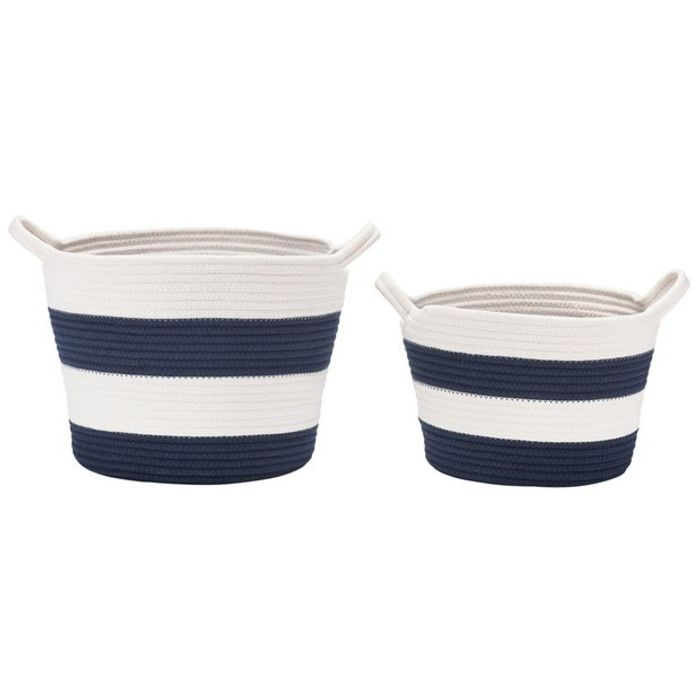 Collection Nautical Set of 2 Storage Baskets
