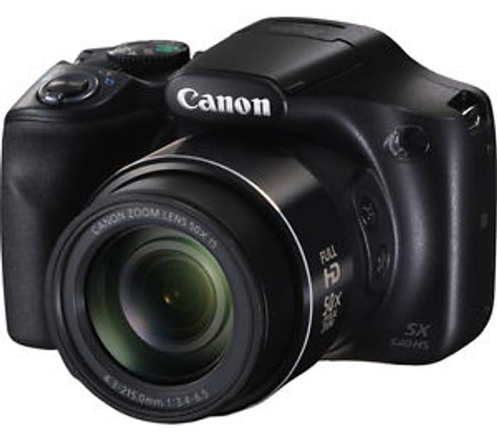 AMAZING! CANON PowerShot SX540 HS Bridge Camera Only £179 at Currys/Ebay