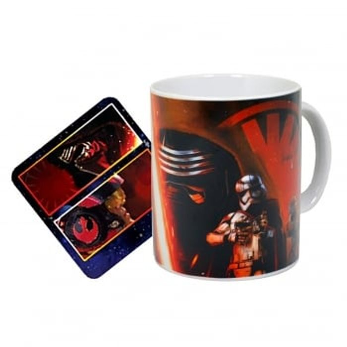 Star Wars the Force Awakens Mug & Coaster Set