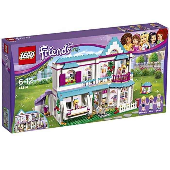 LEGO 41314 Friends Stephanie's House AMAZON PRIME EXCLUSIVE save £23.99