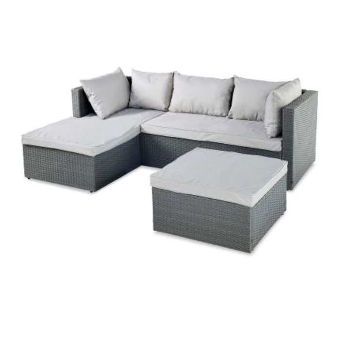 Rattan Corner Sofa for Outdoors
