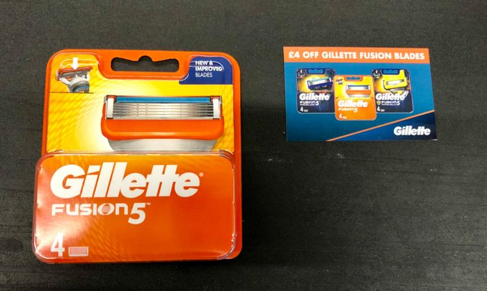 Gillette Fusion 5 Blades Rolled Back to £5 - Possibly Less!