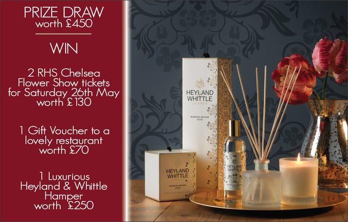 Prize Draw worth £450