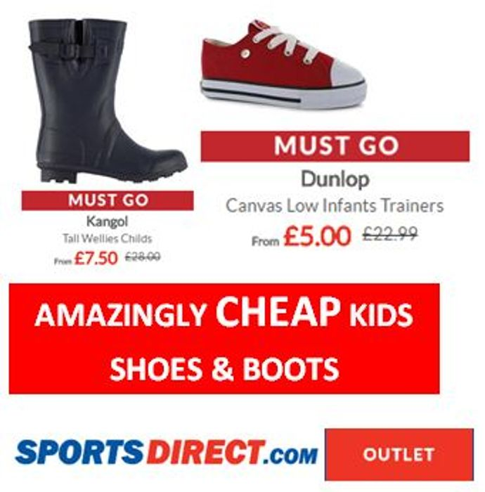 sport direct kids trainers