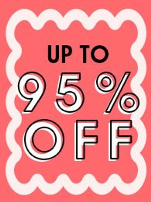 SALE up to 95% Off