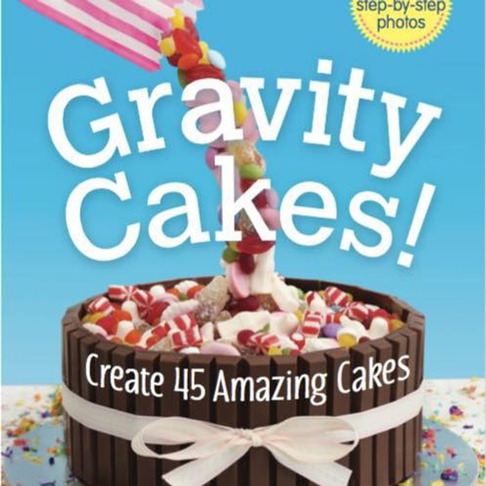 3 Cake Books to Give Away (Gravity Cakes via Their Facebook Page)