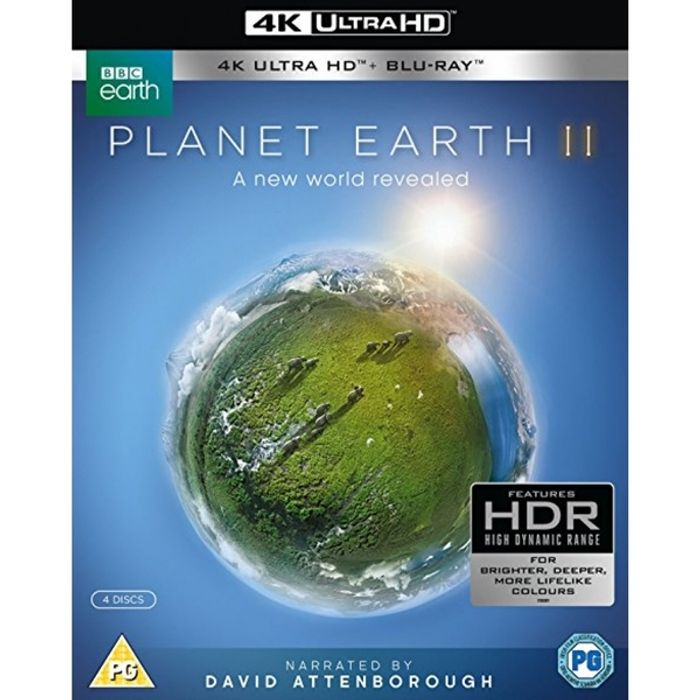 10% Discount on Planet Earth II 4K UHD Blu Ray Purchases via 365games