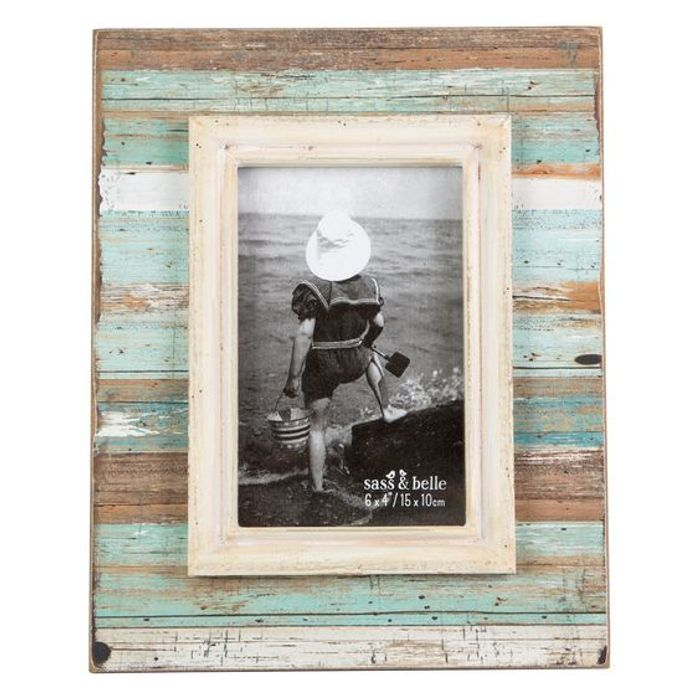Coastal Chic Driftwood Picture Frame