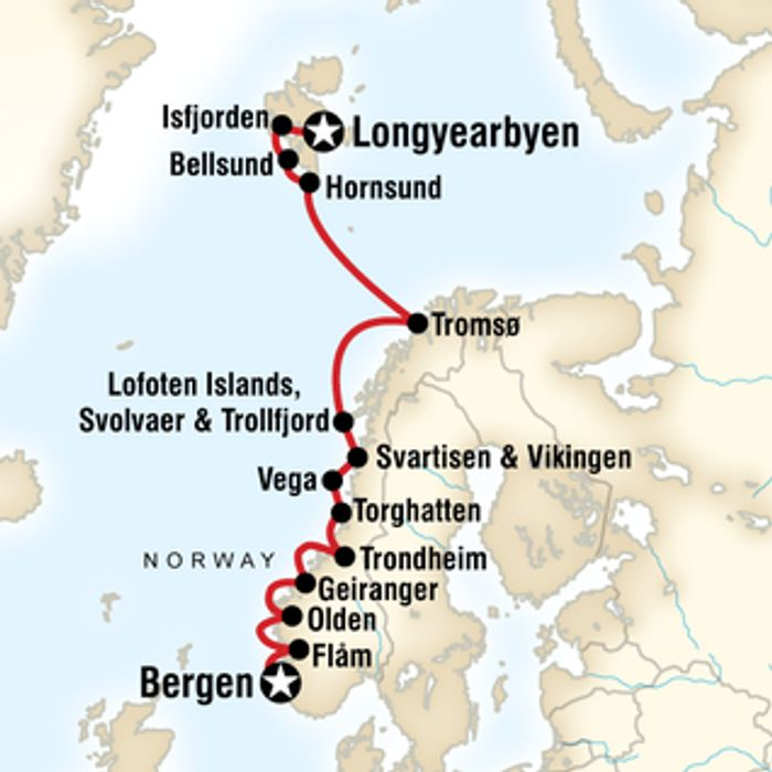 15% off Norway Expedition Bookings