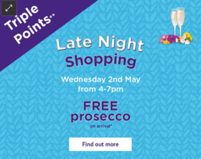Late Night Summer Shopping + Free Prosecco