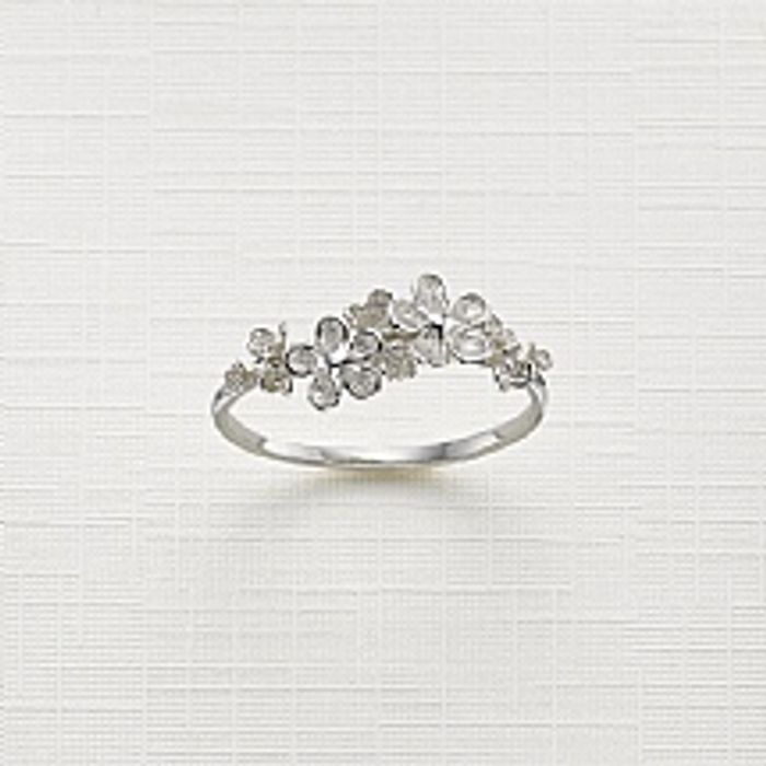 Save £10 on Flower Girl Silver Ring