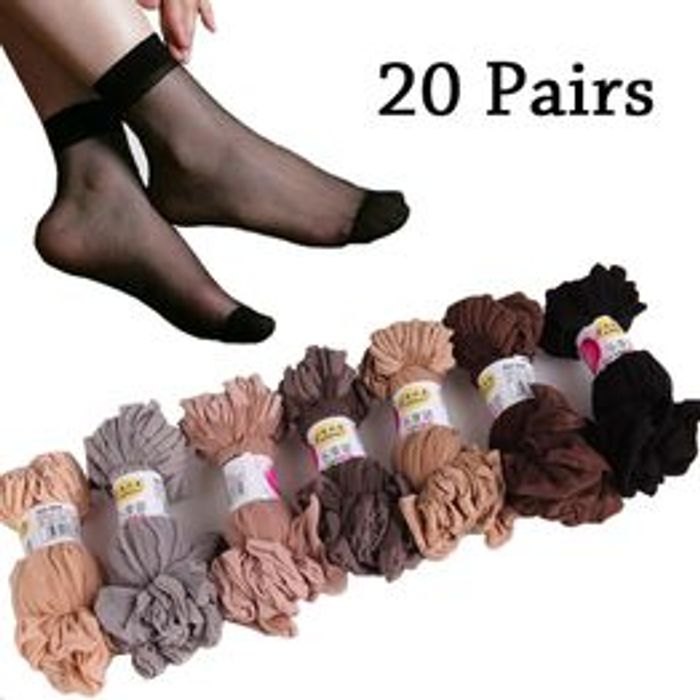 10 Pairs / Lot Summer Sexy Thin Women High Elastic Socks for 93p +93p Postage