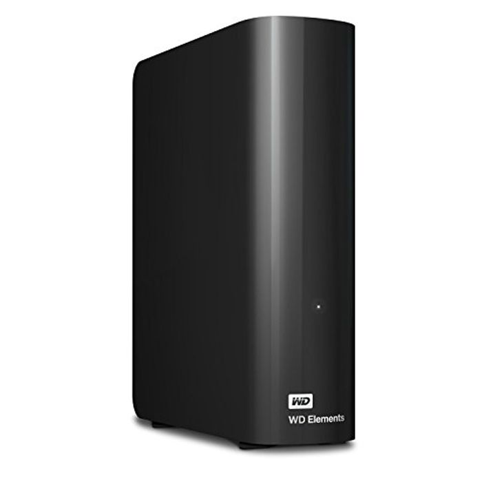 WD 6 TB Elements Desktop External Hard Drive, USB 3.0