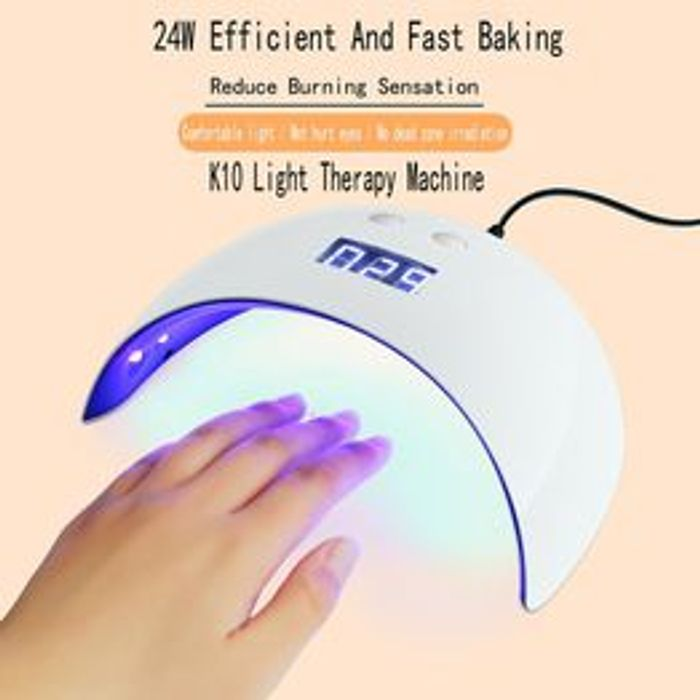 USB 24W LED Drying Nail Dryers Light Lamp Only 75p + 75postage