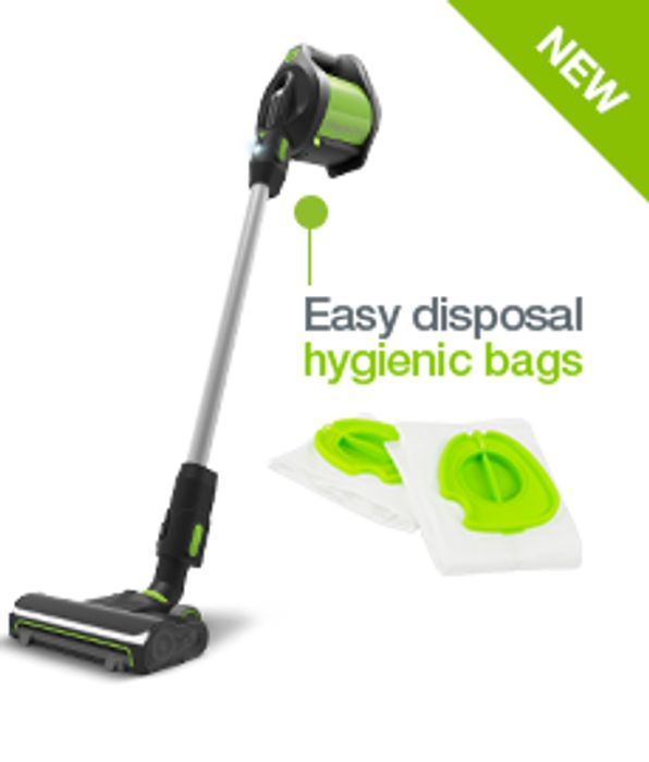 Gtech Pro Bagged Vacuum with Free Car Accessory Kit
