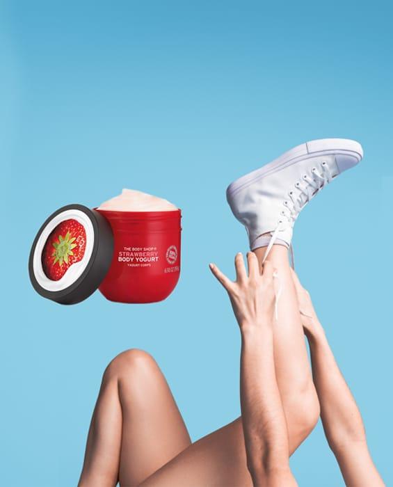 Free Vegan Body Yoghurt Samples