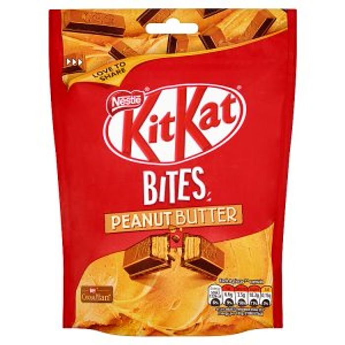 KitKat Bites Peanut Butter