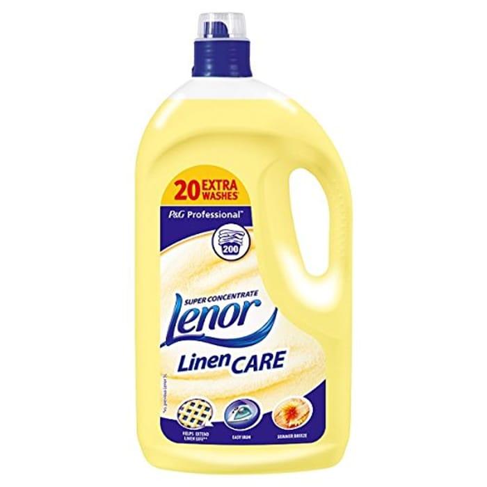 Lenor Professional Summer Breeze Super Concentrate Linen Care 4L