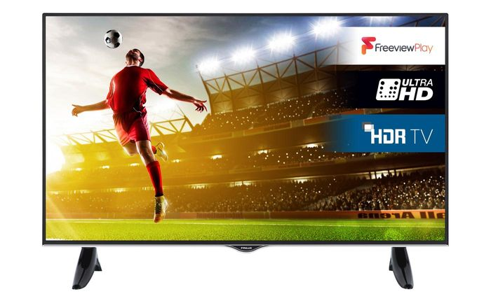 """Finlux 55"""" 4K HDR LED Smart Freeview Play TV with Free Delivery"""
