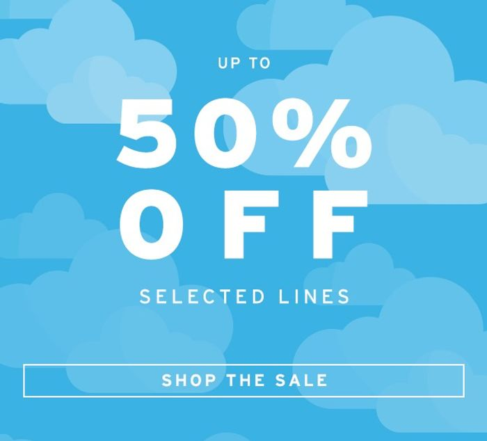 50% off SALE at TOPSHOP