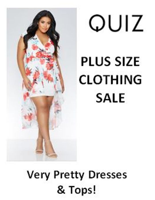 pretty nice attractive & durable choose latest PLUS SIZE CLEARANCE / SALE at Quiz - Pretty Dresses & Tops ...