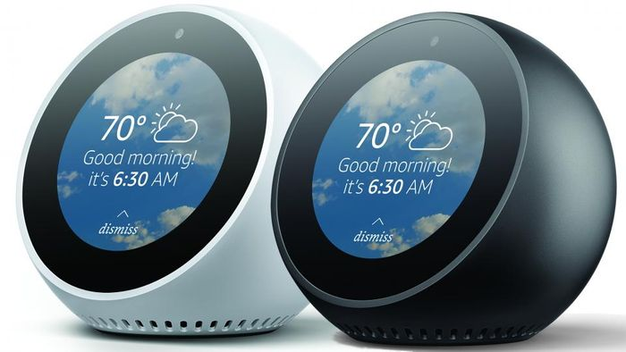 Purchase Two Amazon Echo Spots and save £40