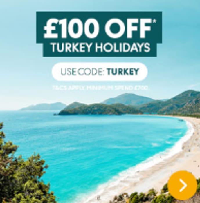 £100 off Turkey Holidays