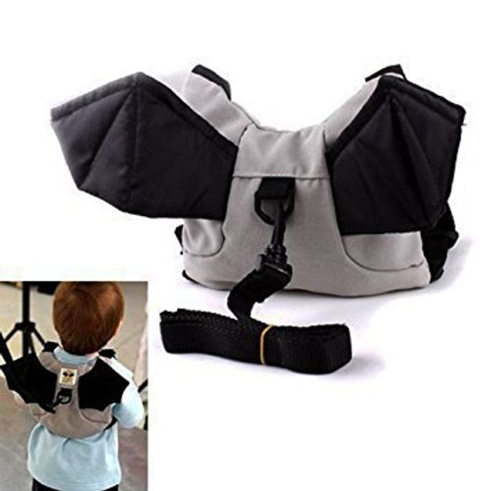 Kids 'Bat' Backpack with Safety Harness - Free Delivery