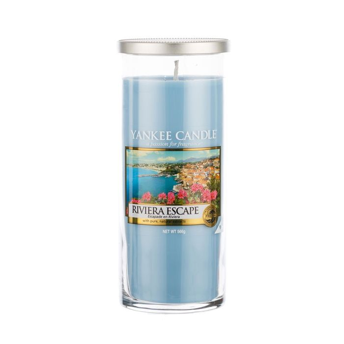 Yankee Candle Large Pillar - Riviera Escape