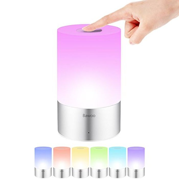 Bedside Lamp LED Dimmable Touch Table Light