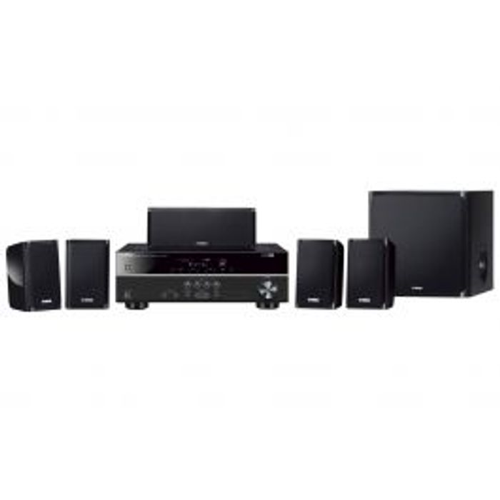 Yamaha YHT1840 (Black) 5.1 Package System Inc Speakers excluding DVD Player