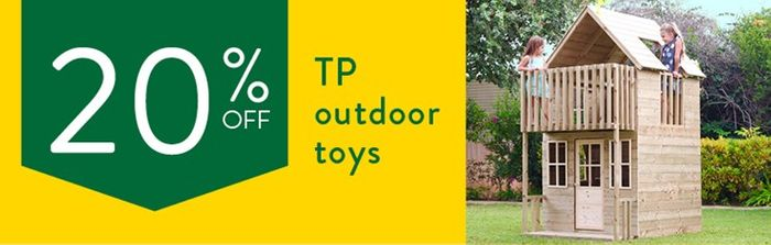 20% off Selected Outdoor Toys