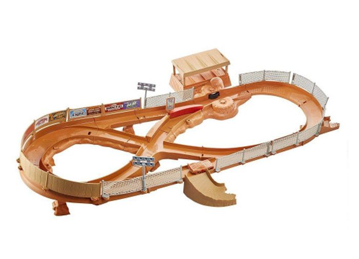 Disney Cars 3 Thunder Hollow Speedway Track Set Less than Half Price