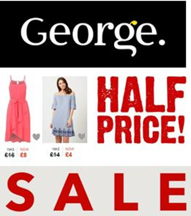 asda clothing sale george clothing company
