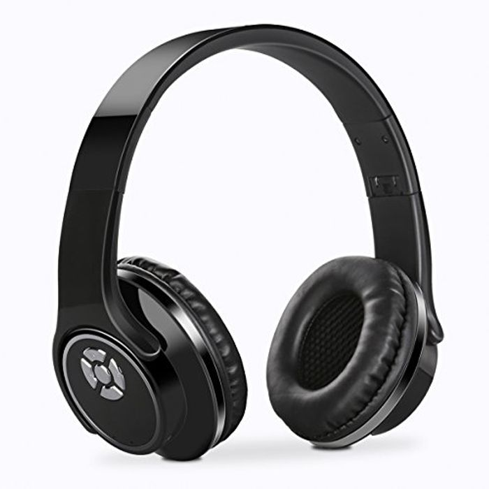 Foldable Headphones Bluetooth Support