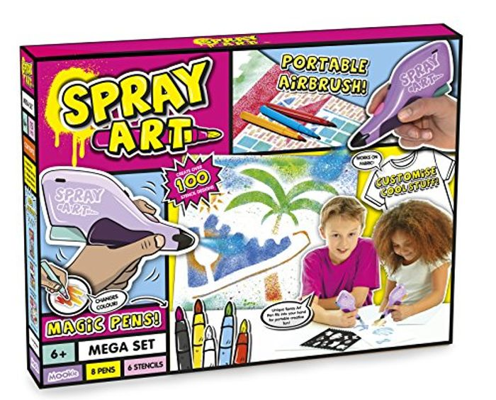 BARGAIN SALE!! Spray Art Mega Set at Amazon