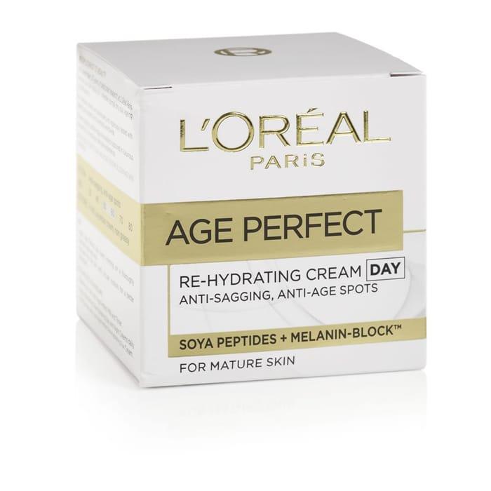L'Oreal Paris Age Perfect Rehydrating Day Cream 50ml Free C&C