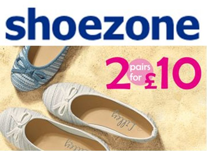 It's a Steal! 2 PAIRS of SHOES for £10! Mix & Match Deal. FREE DELIVERY