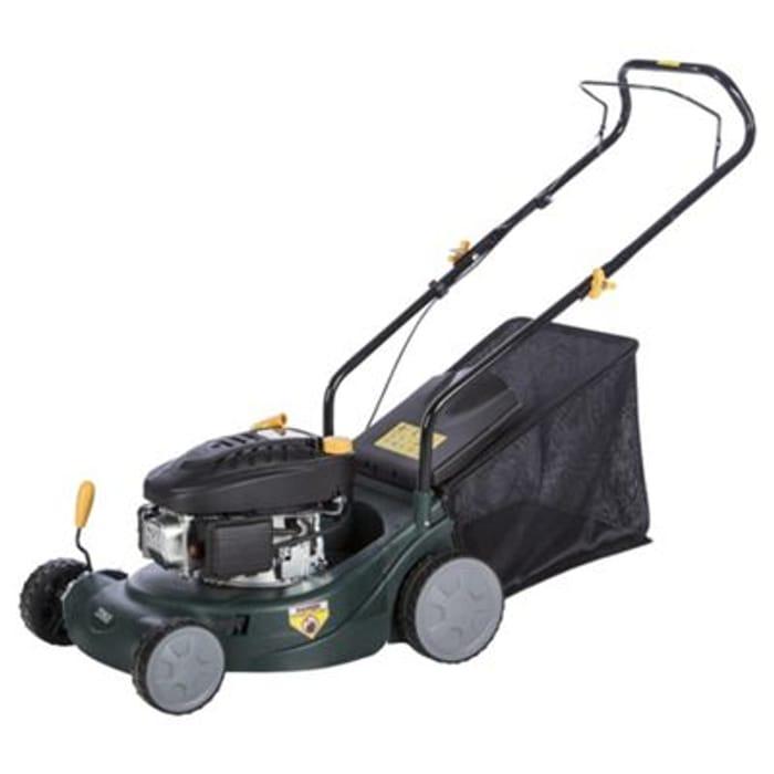 Half Price Petrol Rotary Lawn Mower