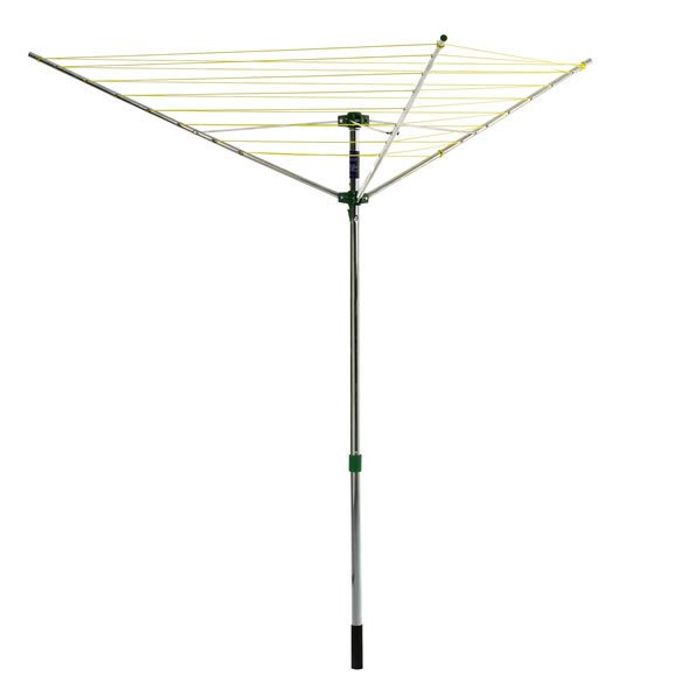 Wilko Rotary Airer 3 Arm 30m
