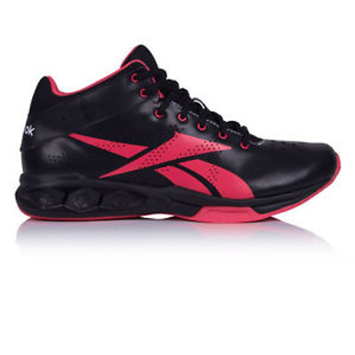 Reebok Womens HexRide Intensity mid Shoe Black Pink Sizes 2.5 > 8