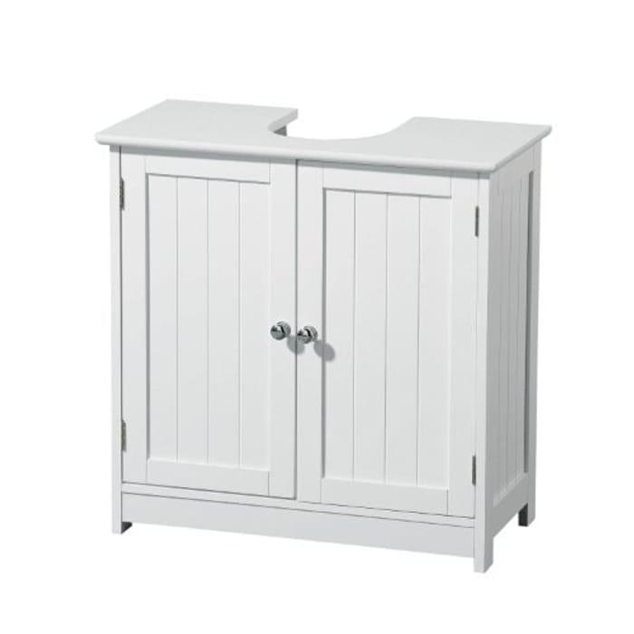 Under Sink Bathroom Cabinet White