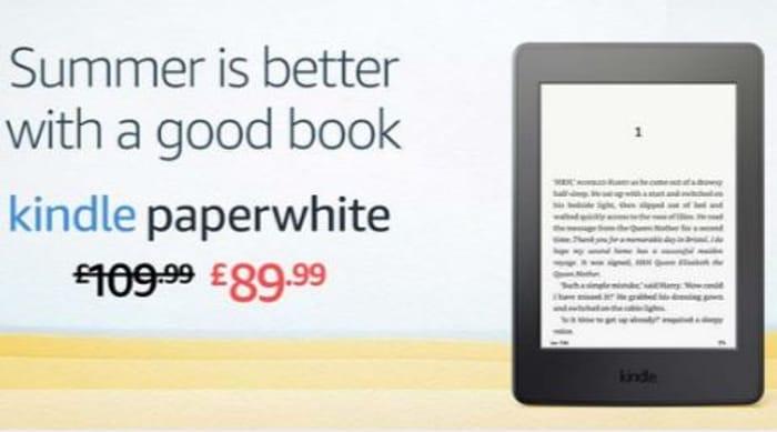 SAVE £20 Kindle Paperwhite E-Reader ***4.6 STARS***
