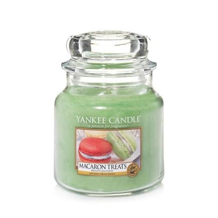 Macaron Treats Medium Jar Yankee Candle