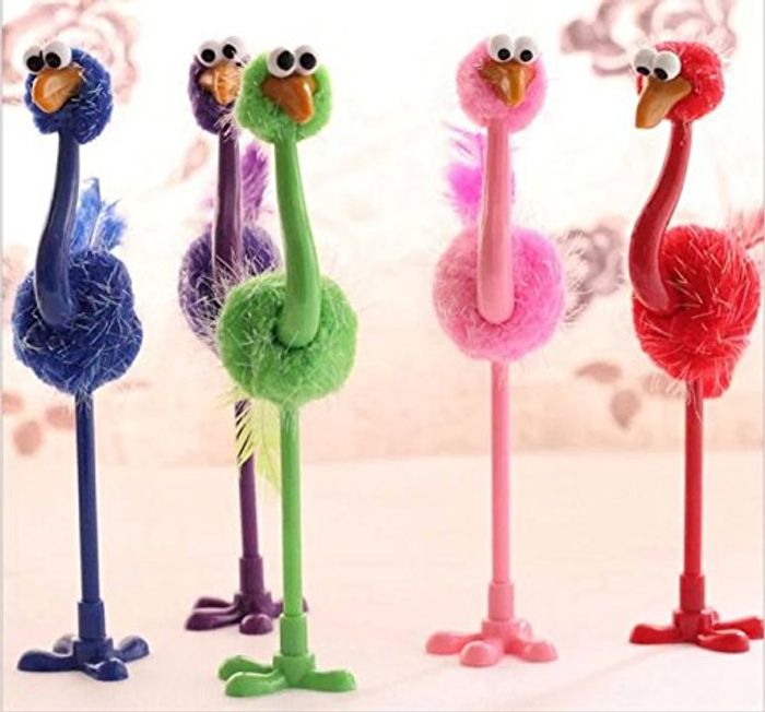 4x Ostrich Pens - Free Delivery